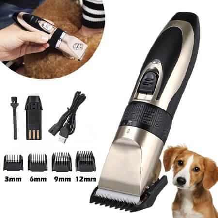 Cortadora de pelo para Mascotas Silenciosa